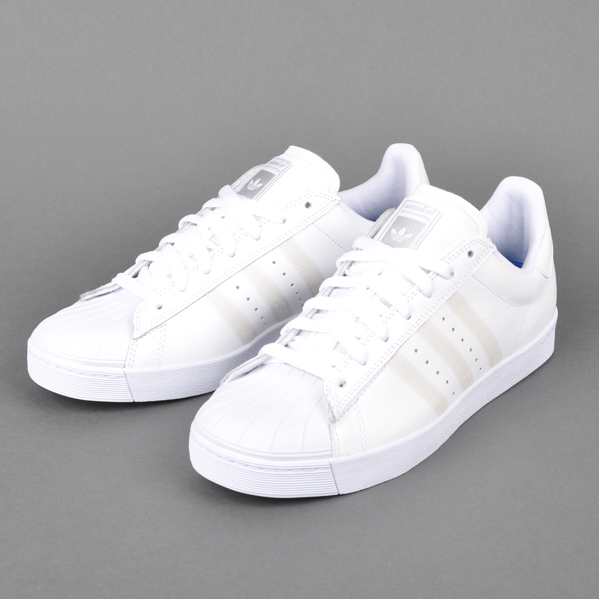 Boys Adidas Superstar Vulc Skate Shoes Zumiez