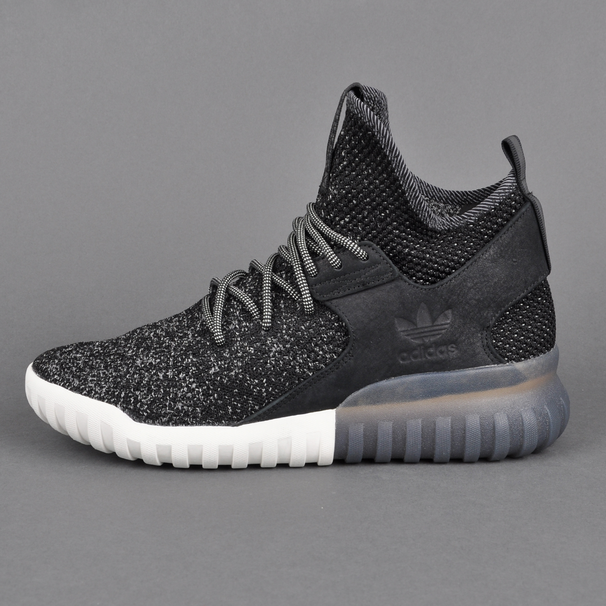 Adidas originals Tubular X 2.0 Primeknit Trainers In Grey Cq1375 in