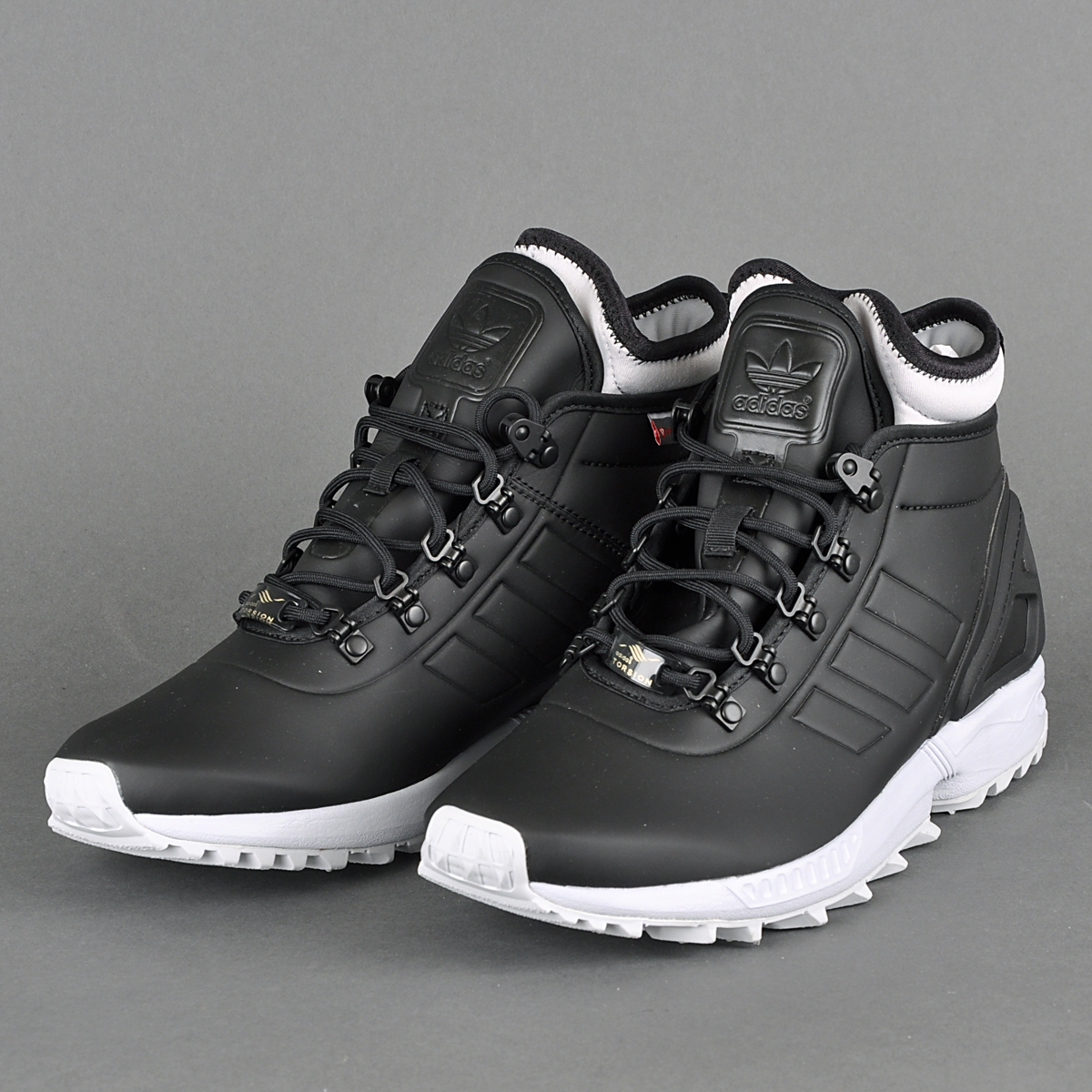 adidas zx flux winter core black nit. Black Bedroom Furniture Sets. Home Design Ideas