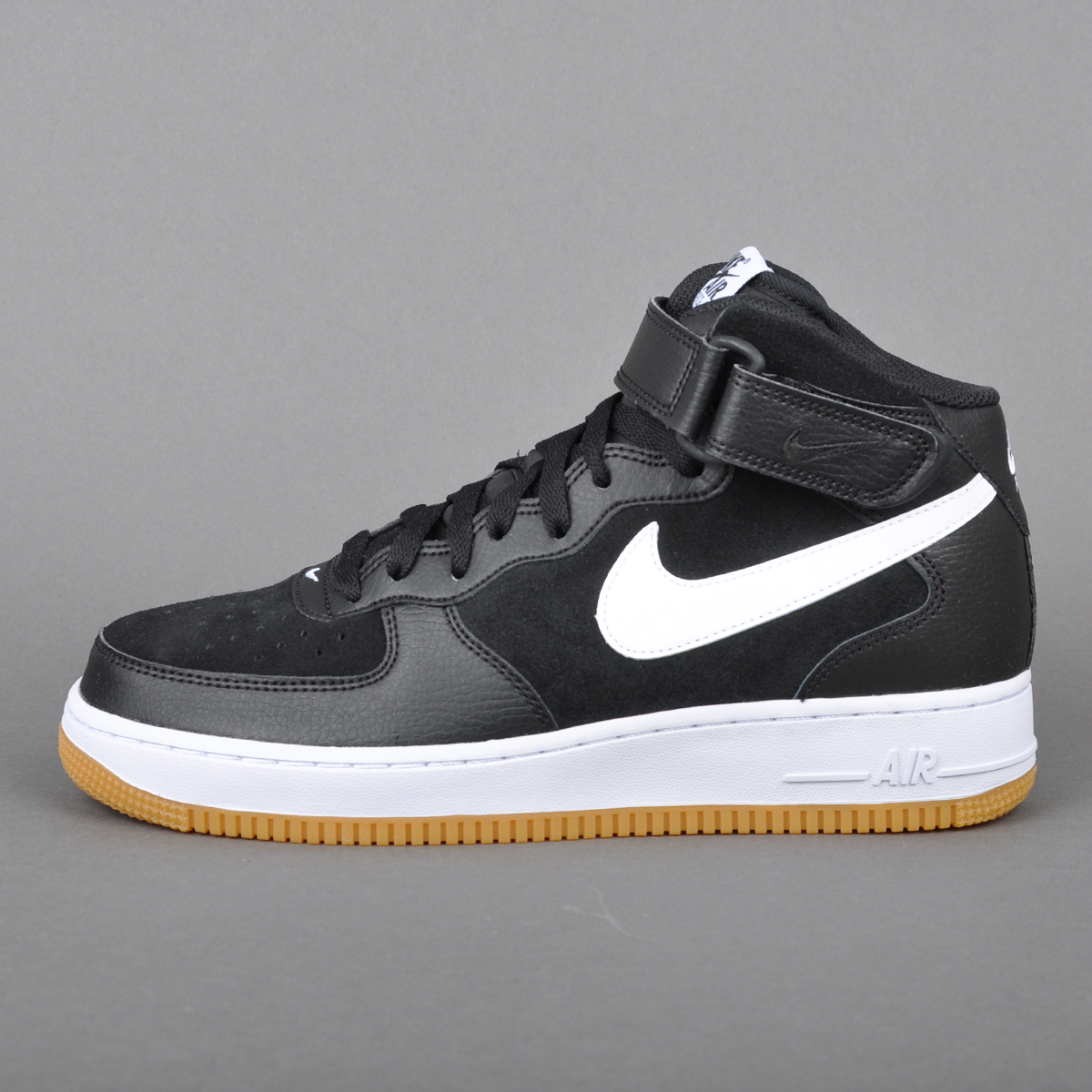 inexpensive nike air force 1 black white gum 6bd67 098b9
