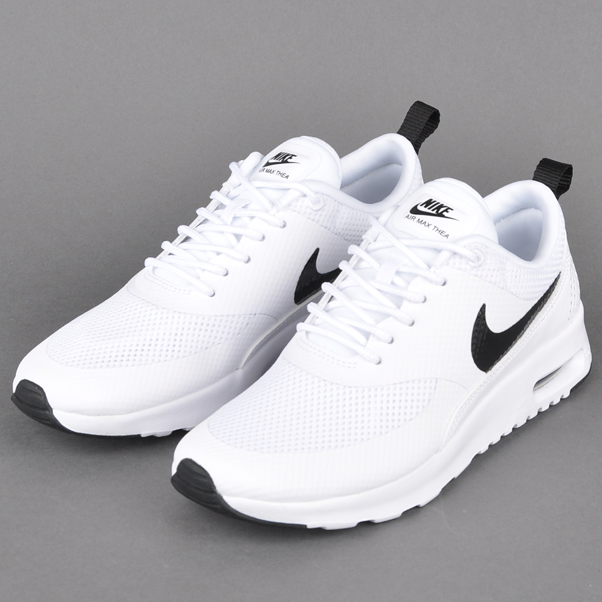 Nike Air Max Thea Textile Womens 819639 005 Black Grey Running