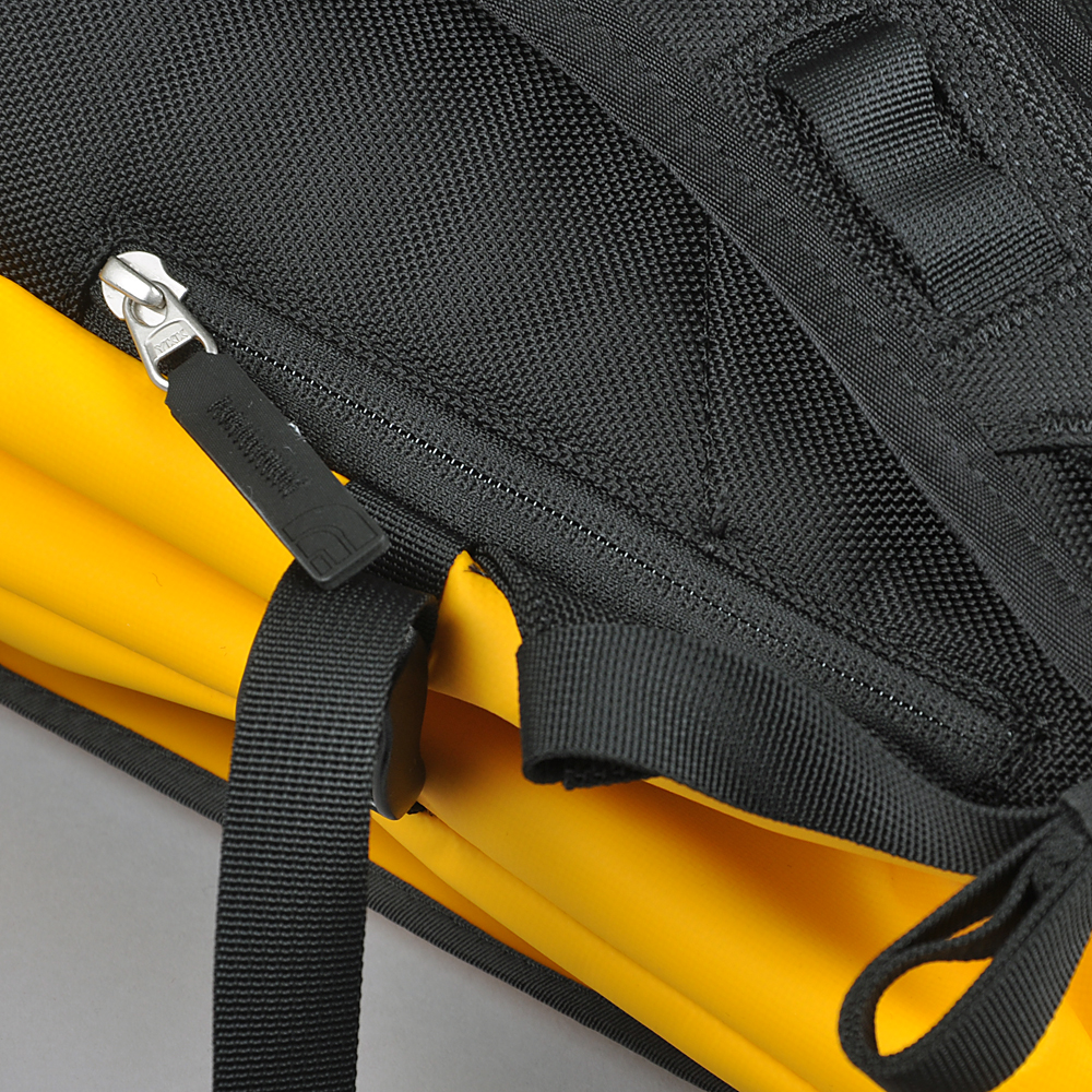 The North Face Base Camp Fuse Box, yellow on