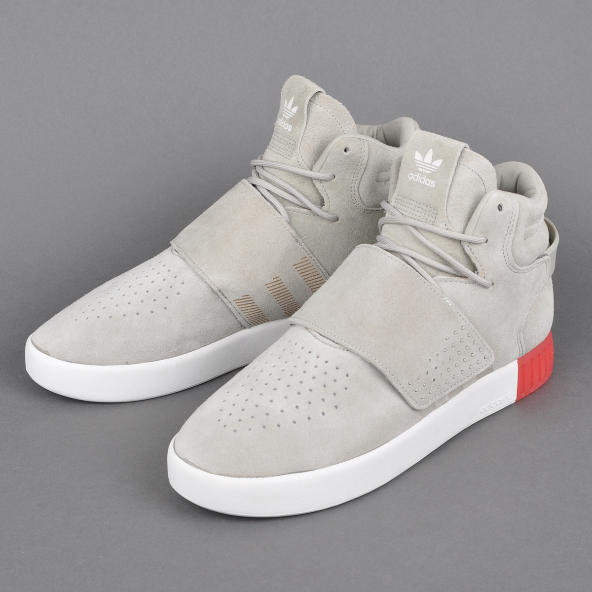 Adidas Originals Tubular Invader Strap Yeezy Black Icy Men Casual
