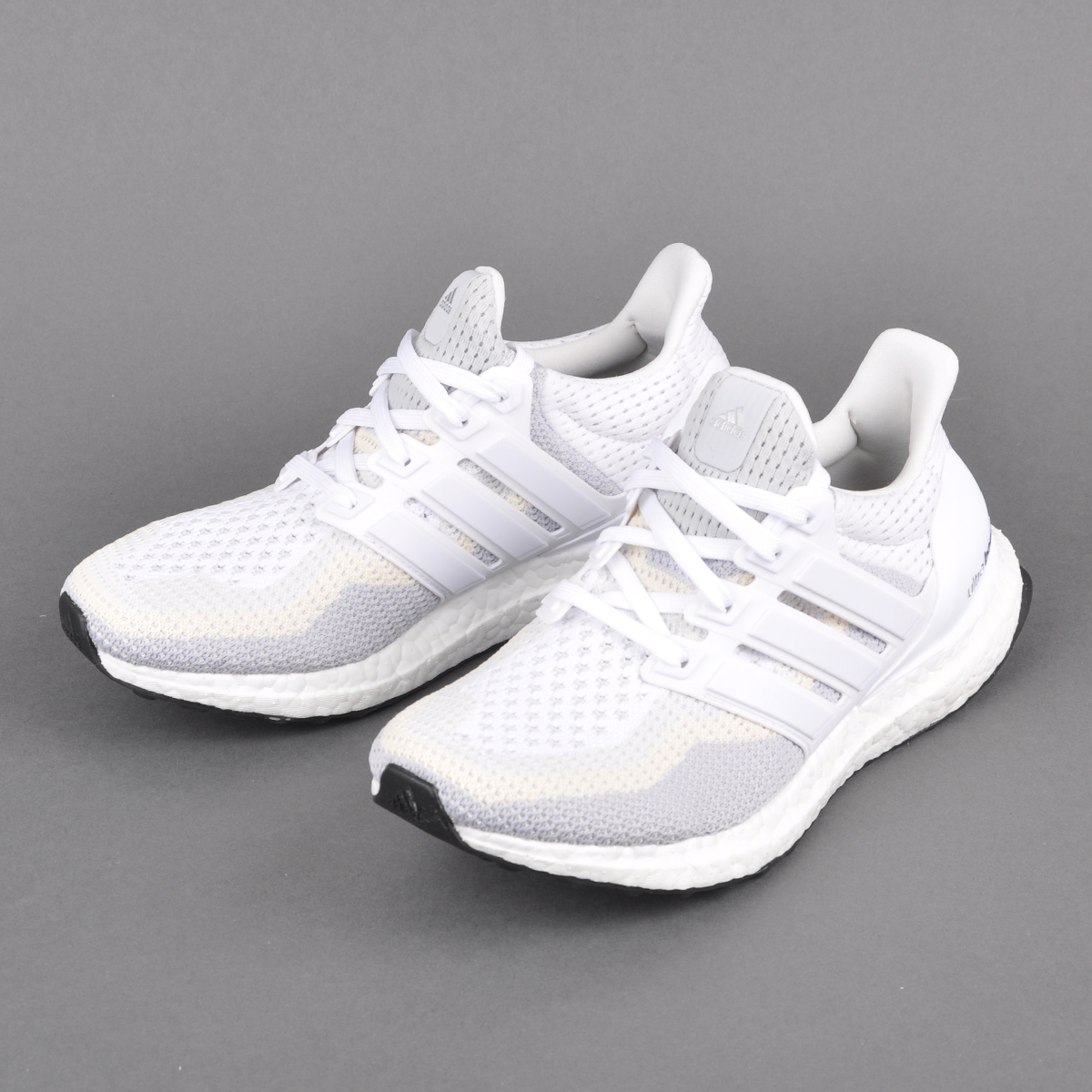new arrivals 19291 e04b2 Adidas Ultra Boost White Clear Grey