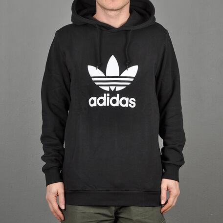 e97be0a11 adidas Originals. adidas Trefoil sidepocket hoodie, black